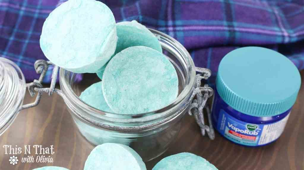 Congestion got you down? These DIY Vapor Rub Shower Melts will offer the relief you need.