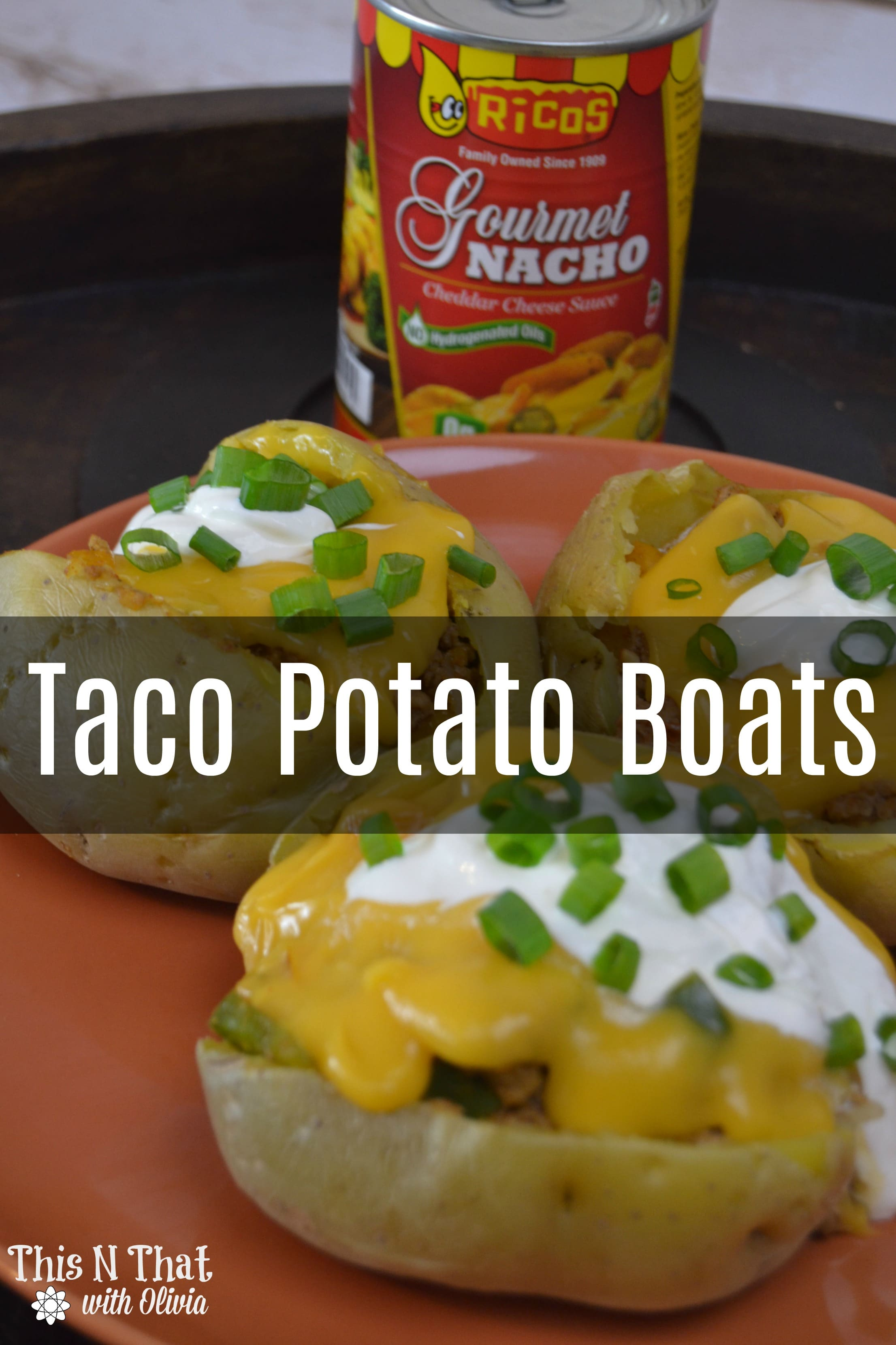 Taco Potato Boats #RicosCheesePlease @RicosProducts