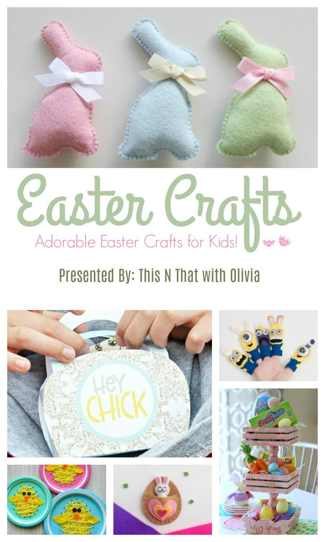 20 Adorable Easter Crafts for Kids