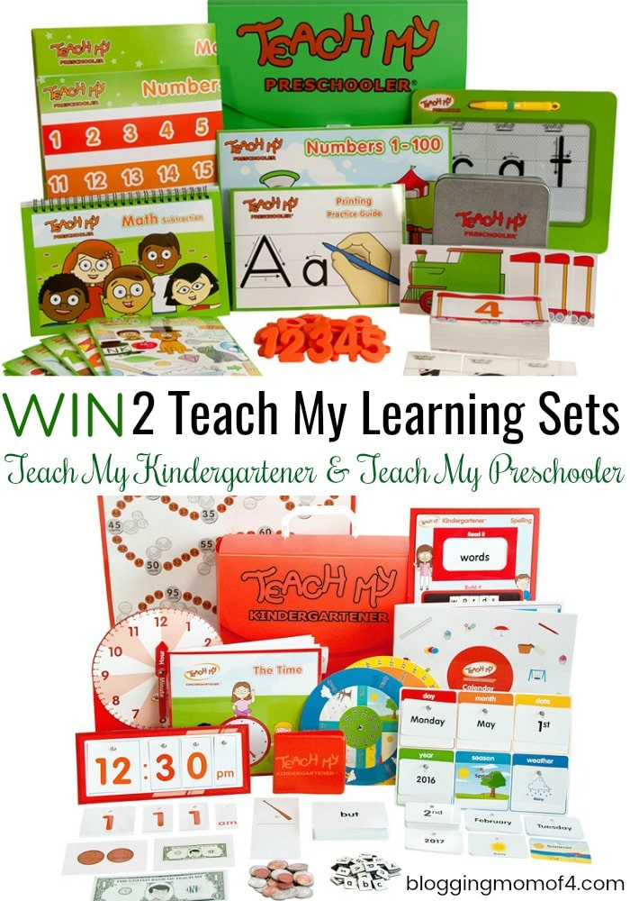 Enter to Win 2 Teach My Learning Sets! #SummerEssentials #BTSEssentials