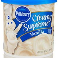 Pillsbury Creamy Supreme Frosting, Vanilla Flavor, 16 Oz