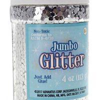 Sulyn Jumbo Glitter, Silver, 4 Ounces