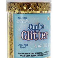Sulyn Jumbo Glitter, Gold, 4 Ounces