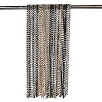 """Gold/Silver/Black 32"""" Plastic Bead Necklaces (48 Pack)"""