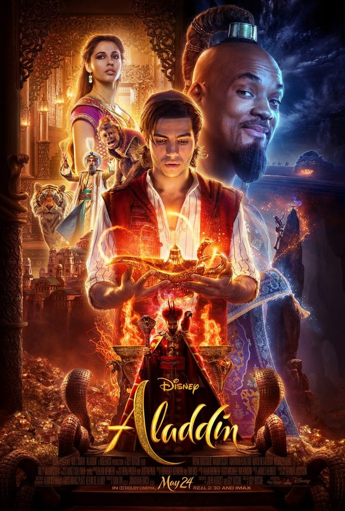 New trailer poster for disney 39 s aladdin this n that with olivia - Aladdin 2019 poster ...