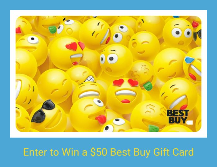 Win a $50 Best Buy Gift Card (Ends 7.11)