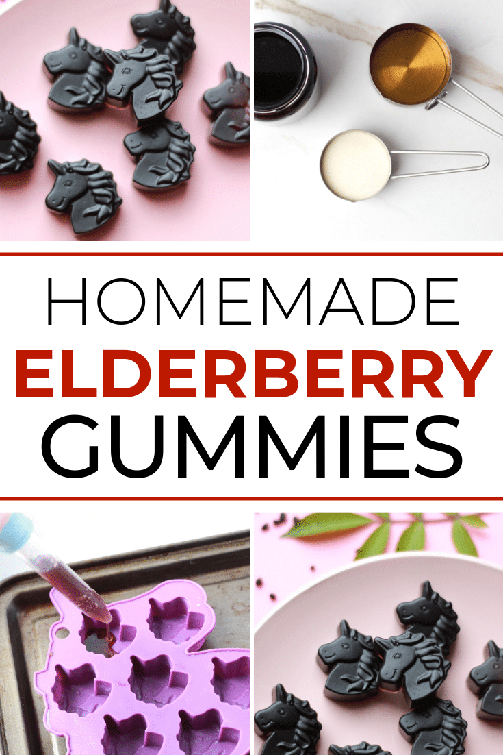 Beat the Flu with these Homemade Elderberry Gummies!