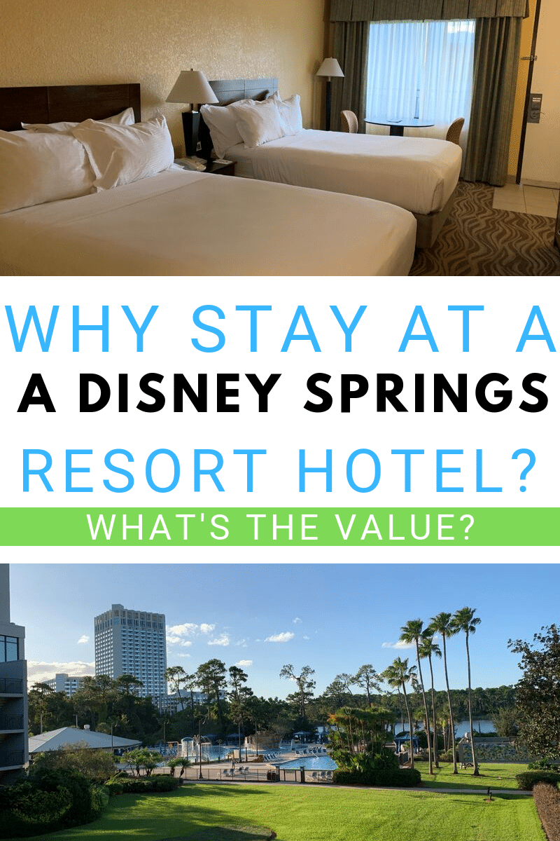What's the Value When You Stay at a Disney Springs Resort Hotel?