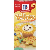 Yellow Food Coloring