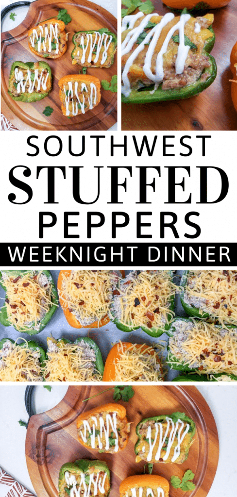 Southwest Stuffed Peppers - A Delicious Weeknight Meal