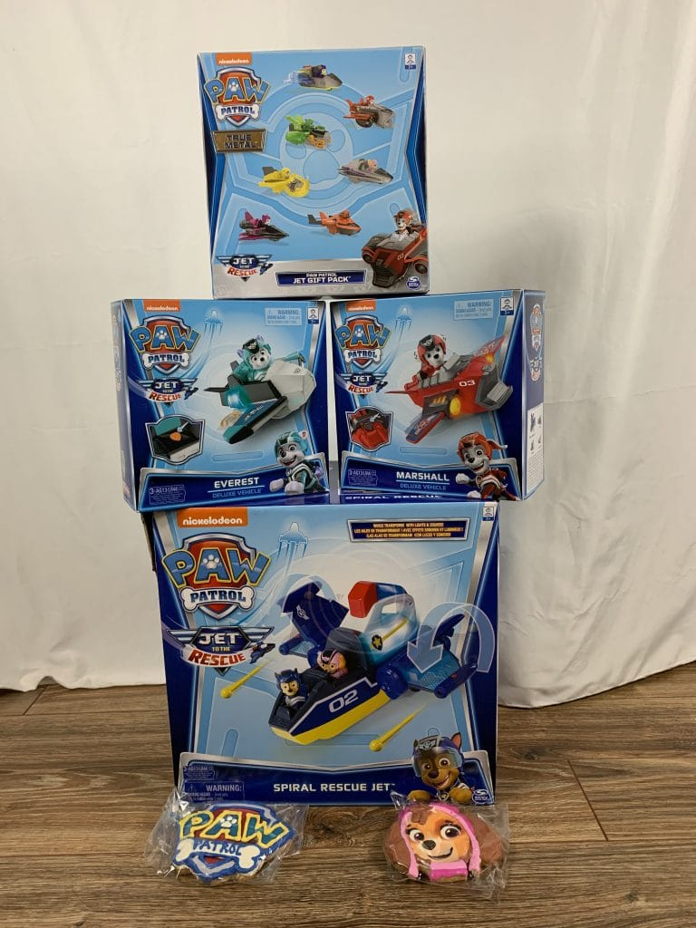 PAW PATROL: JET TO THE RESCUE Exclusive Amazon Toys Available for Pre-Order!