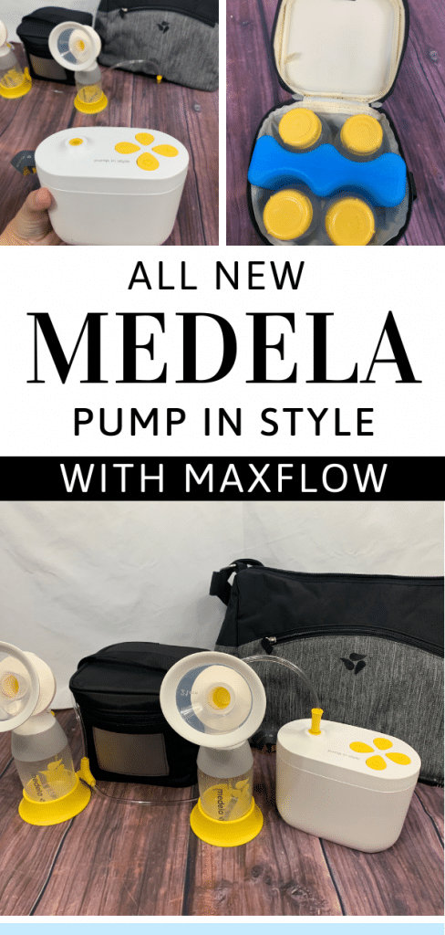 Why You Need the NEW Medela Pump In Style with MaxFlow Breast Pump!