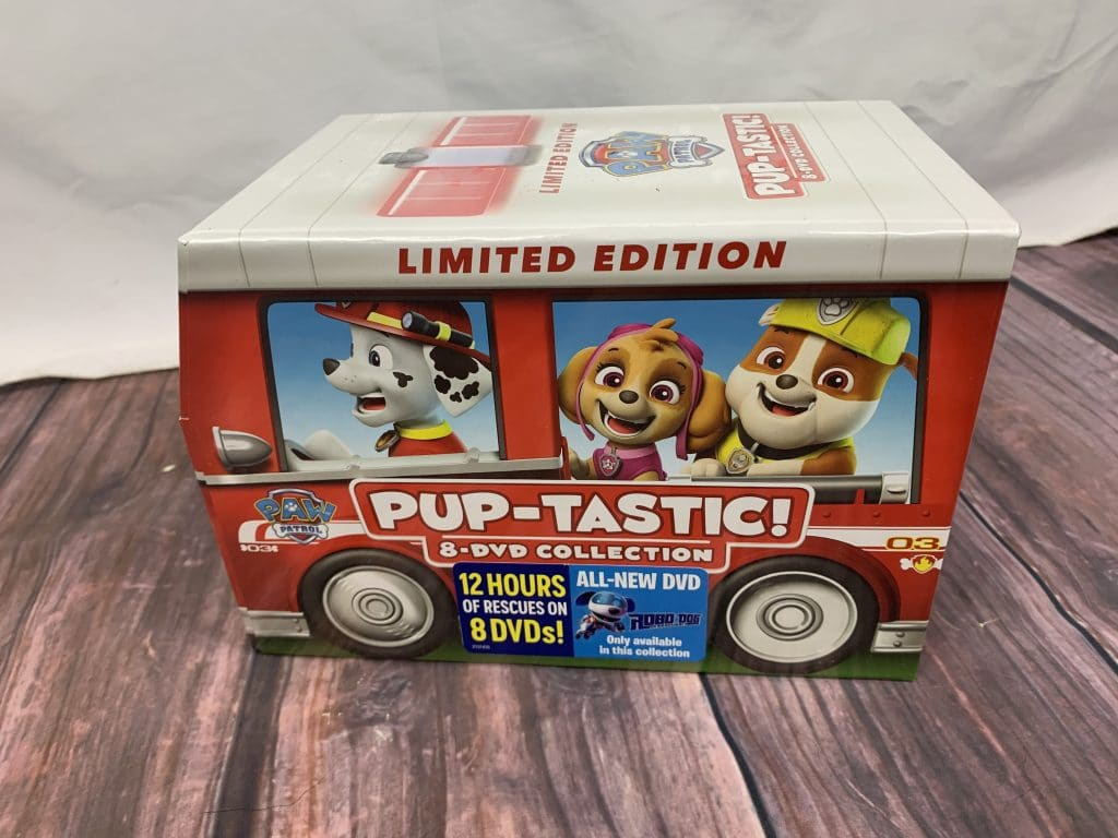 PAW Patrol: PUP-tastic! 8-DVD Collection Limited Edition Marshall's Fire Truck Gift Set!