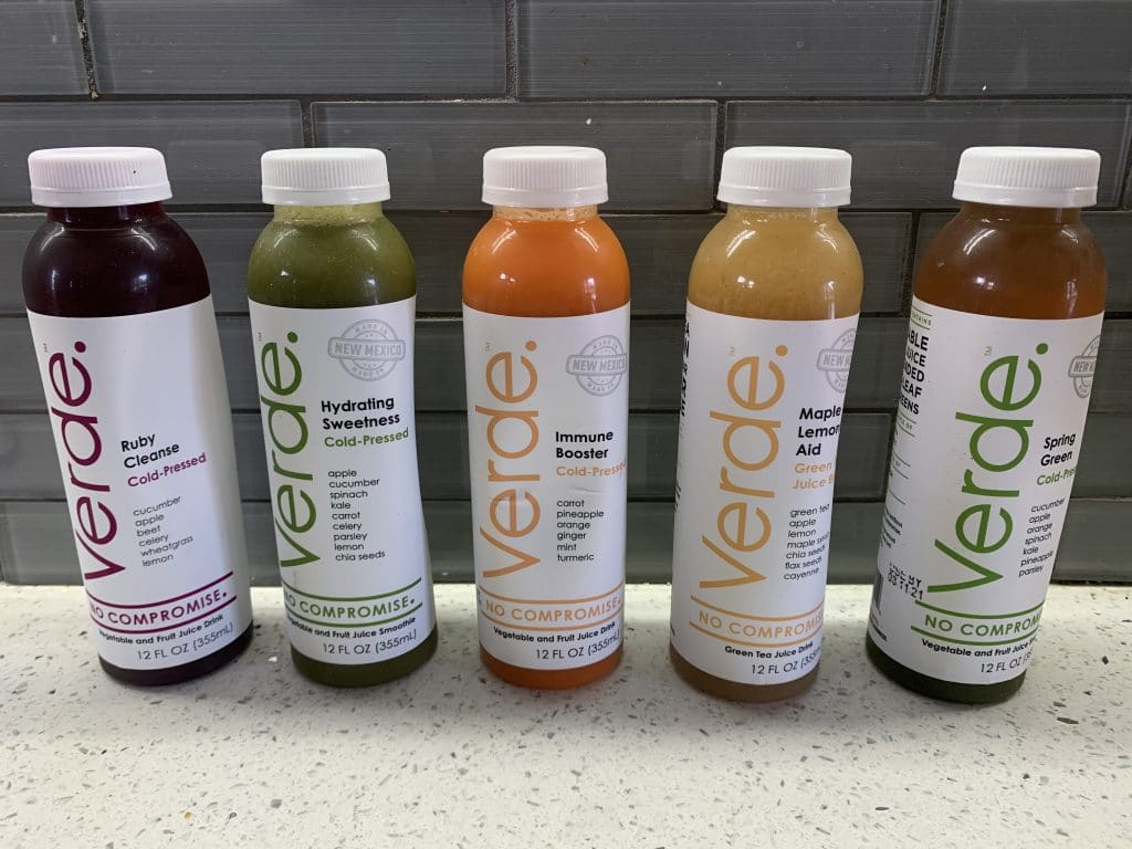 Verde Juices - A Delicious Natural Juice for the Whole Family