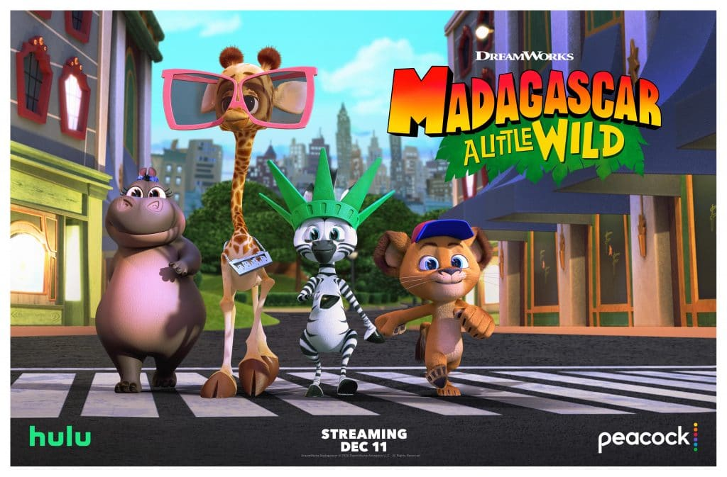 Join in on the Fun as DreamWorks Madagascar: A Little Wild Season 2 Arrives on Peacock and Hulu Today!