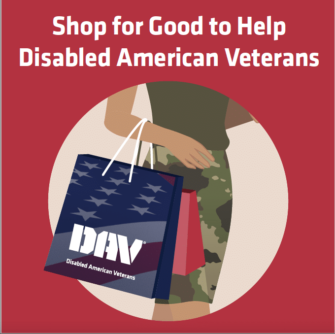Give Back to Veterans this Holiday Season with Disabled American Veterans Spare Change Program!