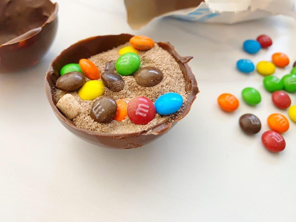 M&M Hot Cocoa Bombs Recipe