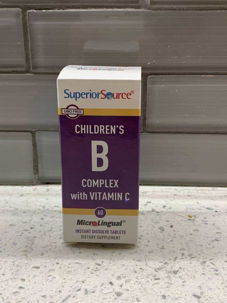 Children's B Vitamin from Superior Source