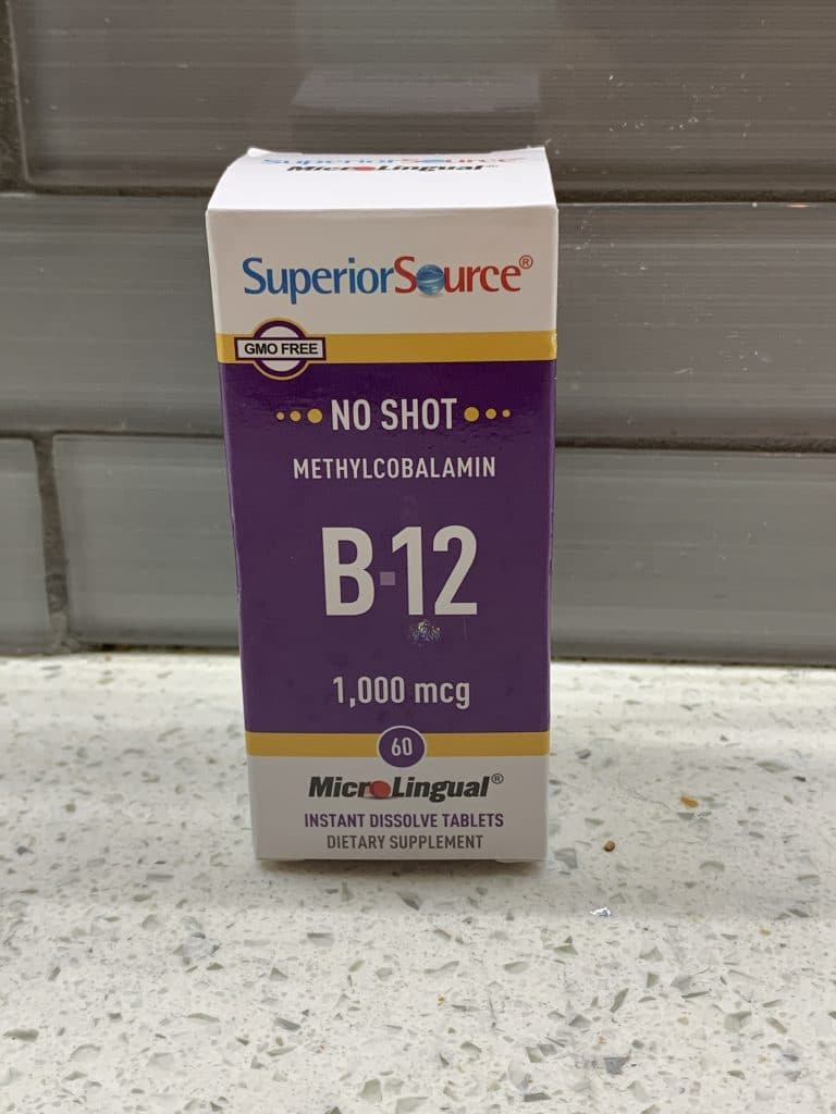 Vitamin B-12 from Superior Source