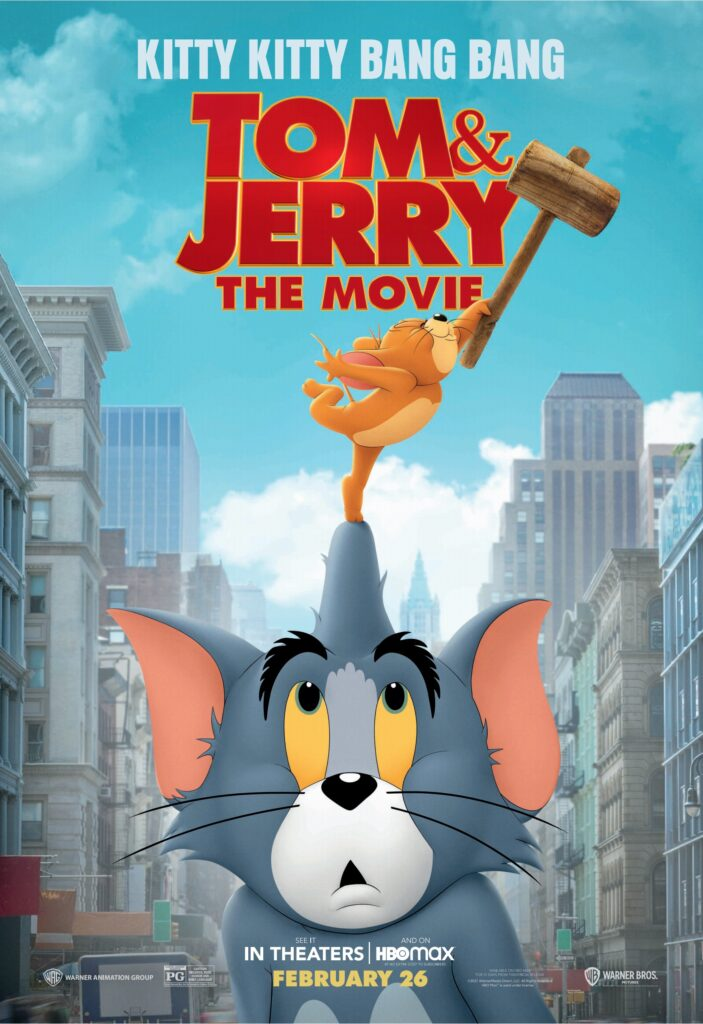 Tom & Jerry Movie Release Details + Free Activities!