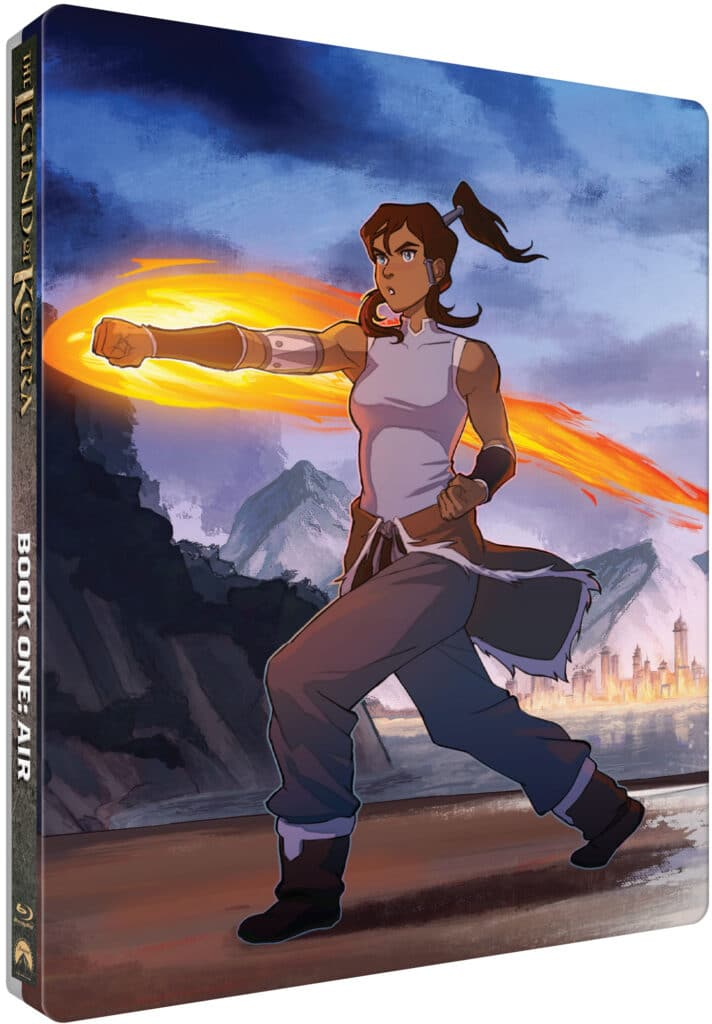 The Legend of Korra – The Complete Series Limited Edition Steelbook Collection arrives on March 16th!