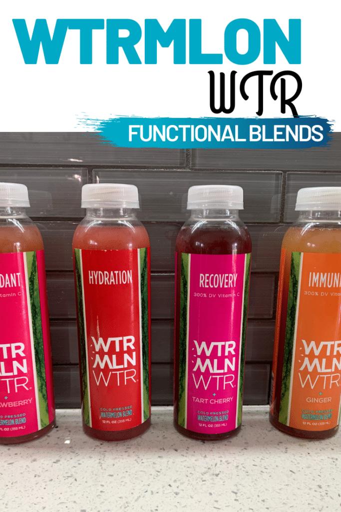 New WTRMLN WTR Functional Blends