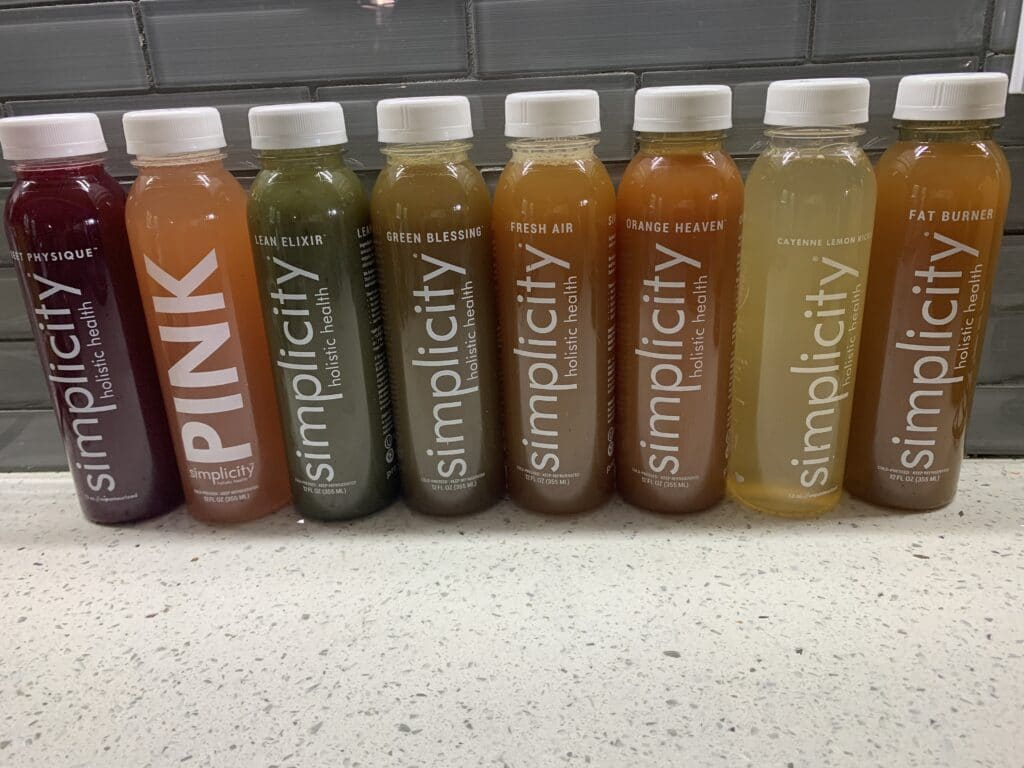 Delicious Hydration with Simplicity Juice