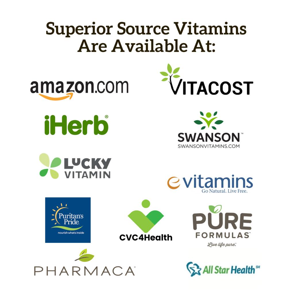 Where to buy Superior Source Vitamins