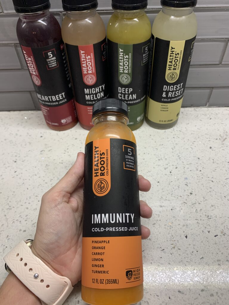 Healthy Roots Cold-Pressed Juices