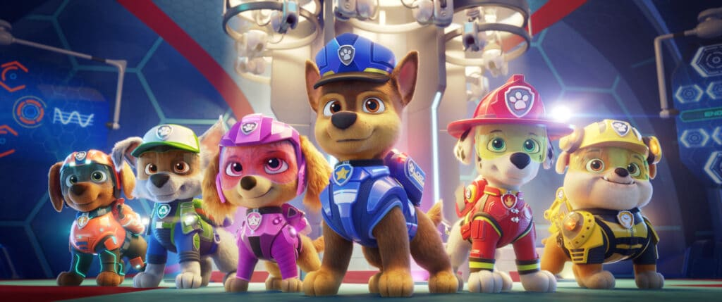 """PAW Patrol: The Movie Available on Digital and Interview with Iain Armitage """"Chase"""""""